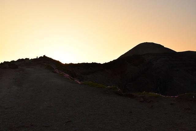 高千穂峰から迎えるご来光