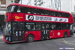 Wrightbus NRM NBFL - LTZ 1054 - LT54 - Oxford Circus 88 - Go Ahead London - London 2017 - Steven Gray - IMG_9530