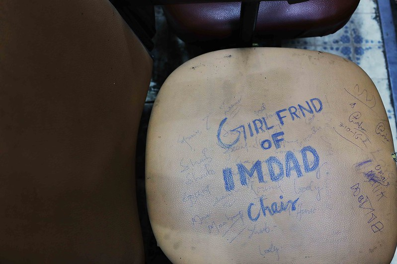 City Life - Poet's Love Seats, Ghalib Academy