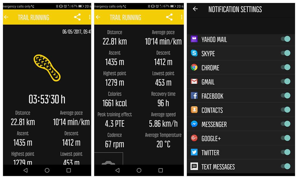 To Movescount App και τα notifications που μπορείτε να ρυθμίσετε να παίρνετε στο ρολόι