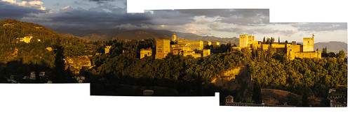 Late evening across from the Alhambra | by Unhindered by Talent