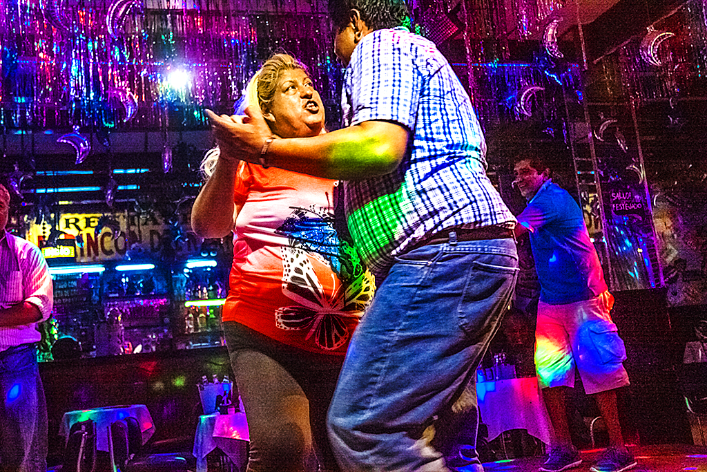 Dancers in nightclub off Garibaldi Square--Mexico City 2