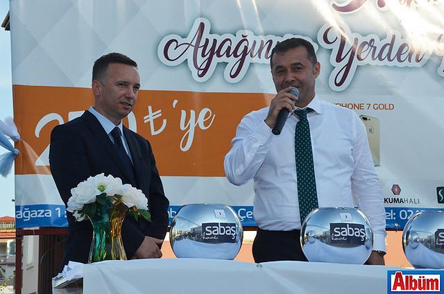 Rauf Sadullahoğlu, Alanya Belediye Başkanı Adem Murat Yücel