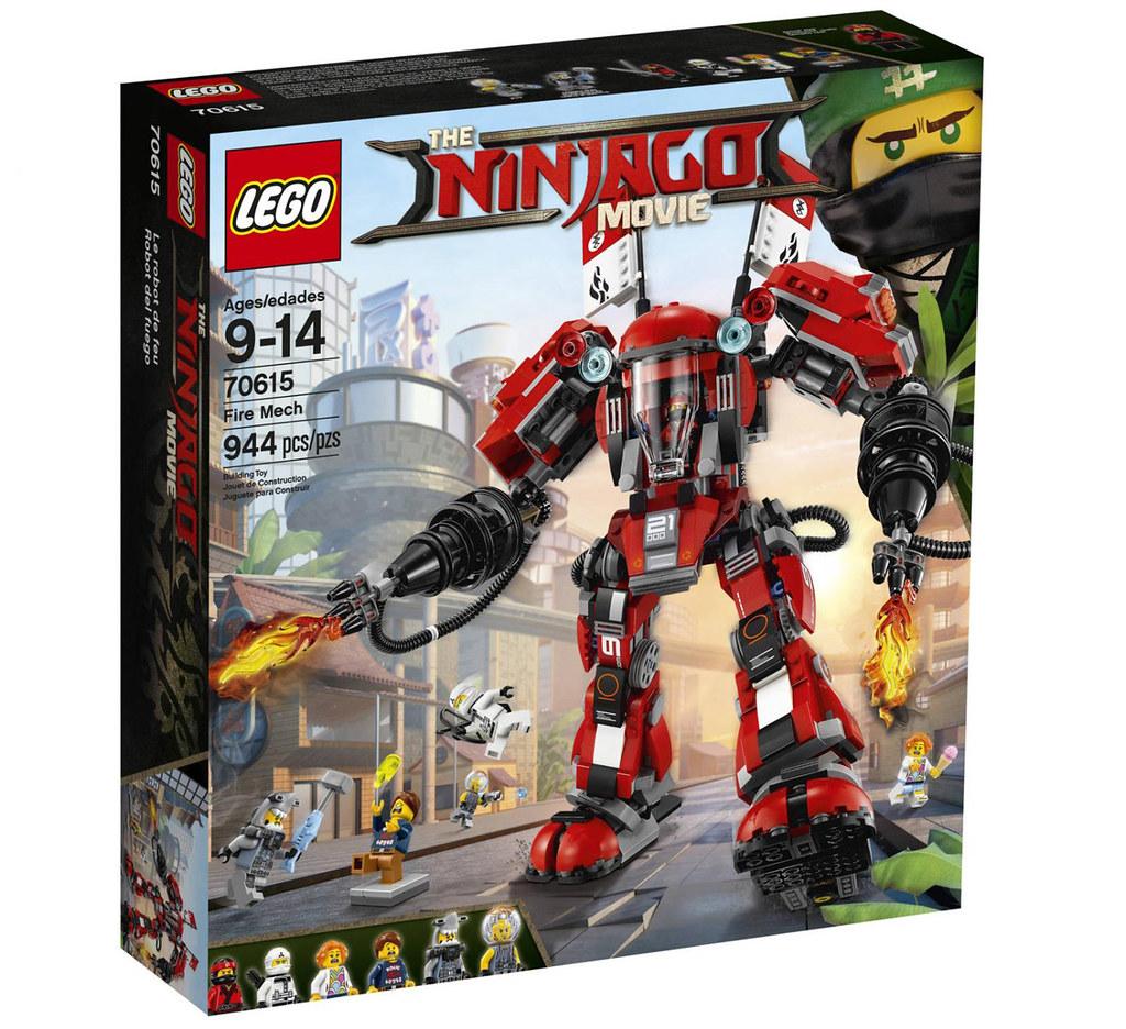 The LEGO Ninjago Movie 70615 - Fire Mech