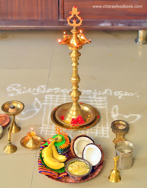 How to do friday thiruvilakku pooja in Tamil