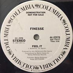 FINESSE:FEEL IT(LABEL SIDE-B)