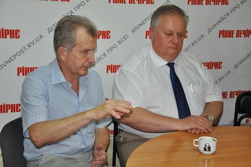 Микола Хлапук та Володимир Хомко