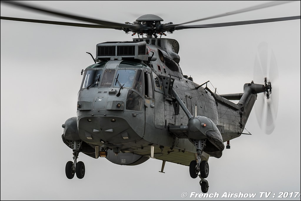 Sea King ASaC Mk7 , 849 NAS (RN) , Nato Tiger Meet landivisiau 2017 , NTM2017 ,Spottersday Nato Tigers , Harde to be humble , bretagne
