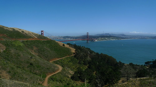 Golden Gate Bridge - As seen from Marin County, California