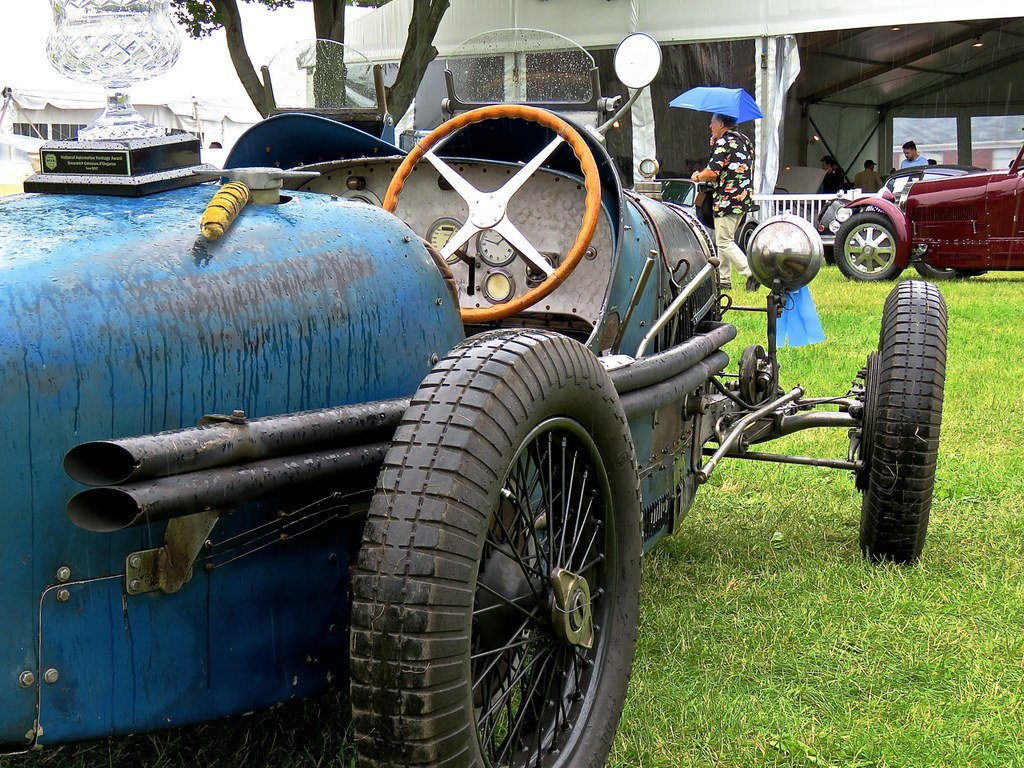 Bugattis In The Rain 10