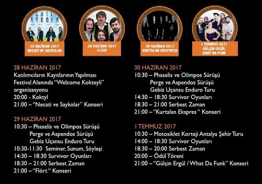 Antalya Motosiklet Festivali başlıyor2