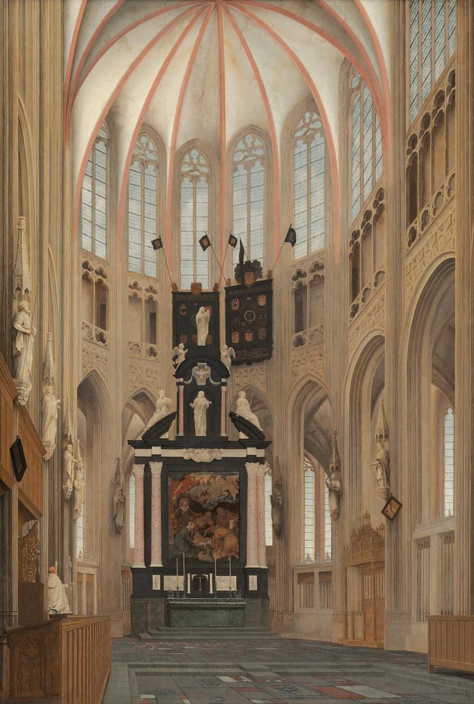 Pieter Jansz Saenredam - Cathedral of Saint John at 's-Hertogenbosch (1646)