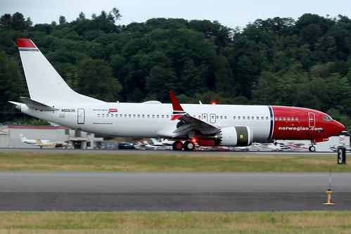 Boeing 737 MAX 8 Norwegian Air International N6063S (EI-FYB) LN6372