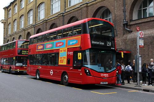 Arriva London HV213 on Route 259, King's Cross