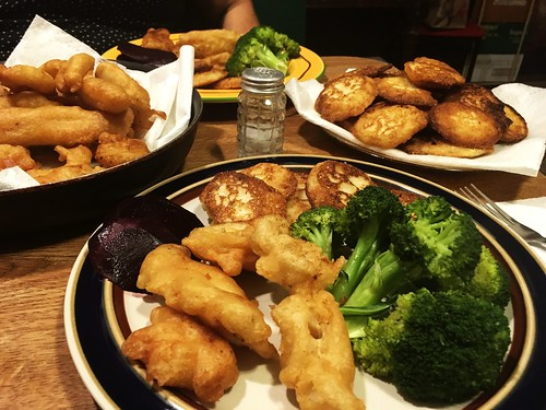 Fish Fry Dinner with Mom (June 5 2016)