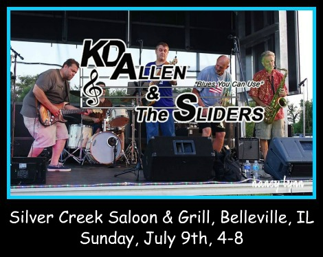 KD Allen & The Sliders 7-9-17