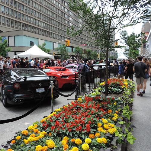 Downtown Toronto Porsche Exhibition Negin Minaei Flickr