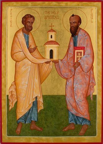 Sfintii Apostoli Petros si Pavlos