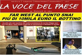 Noicattaro. Prima pagina n. 23-2017 front