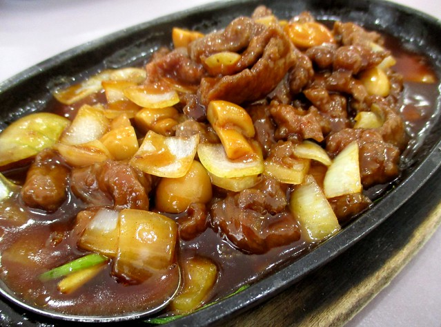 Nice House sizzling beef