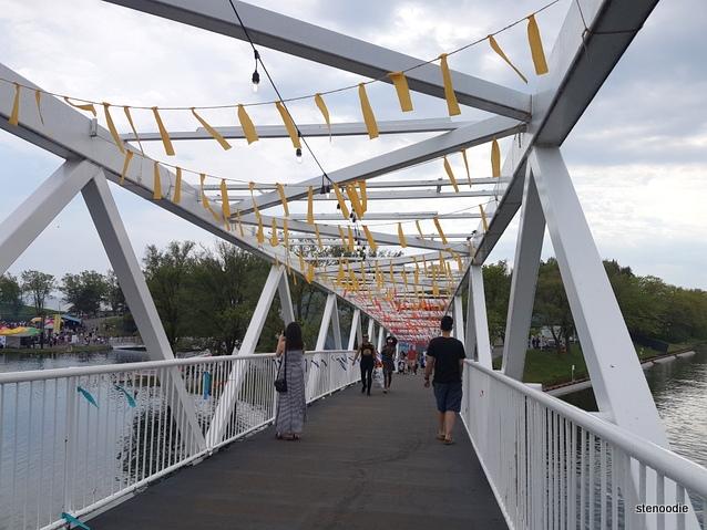 Ontario Place bridge
