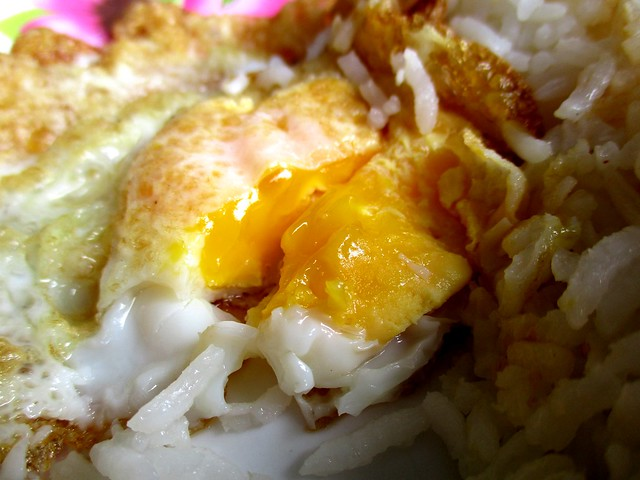 Fried egg, yolk