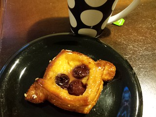 Cherry Danish and Peppermint Tea from Smith & Deli