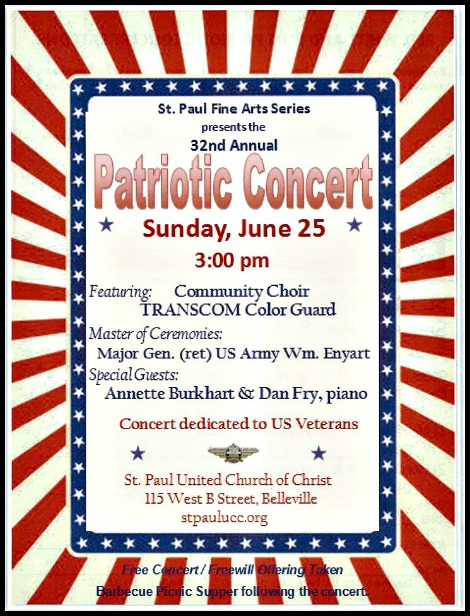 St Paul Patriotic Concert 6-25-17