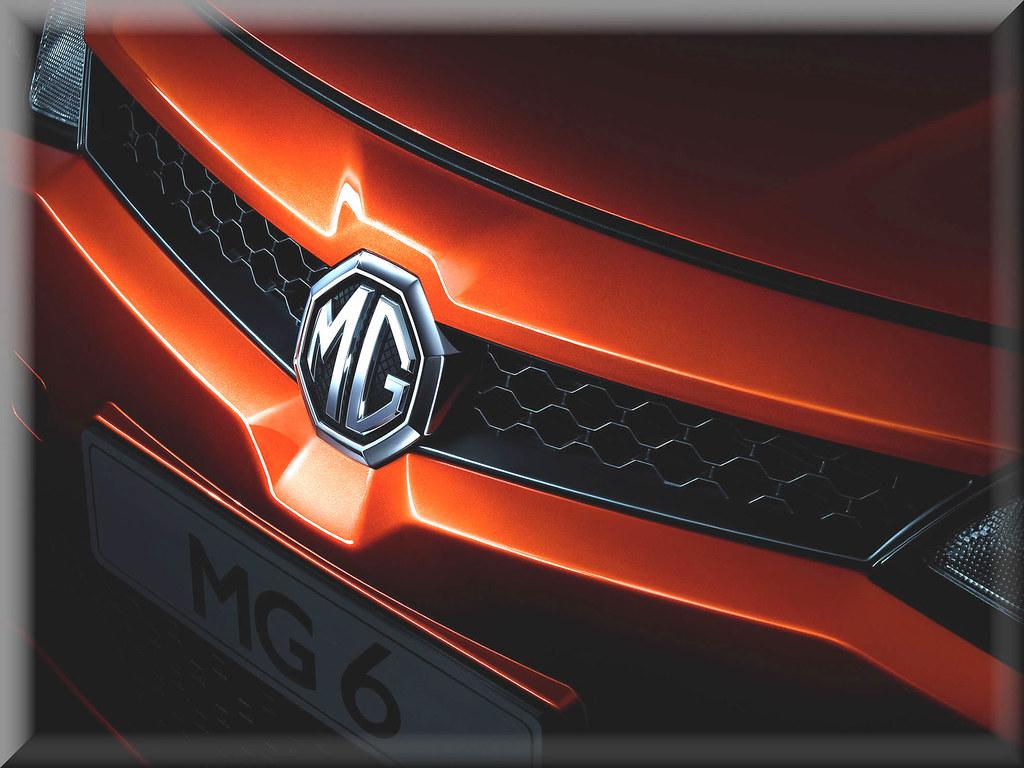 MG6 front logo