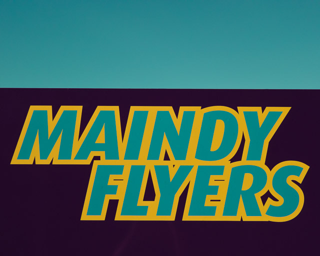 maindy flyers sign