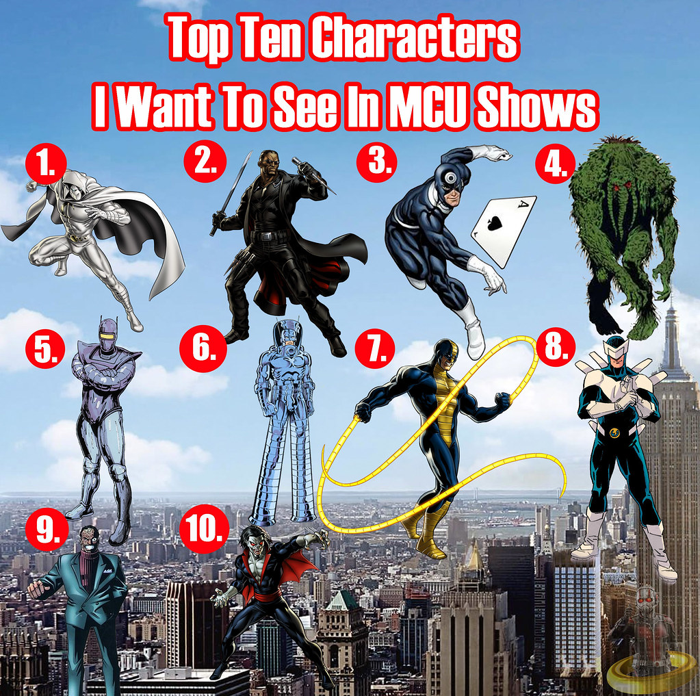 top ten characters i want to see in mcu tv shows top ten w flickr