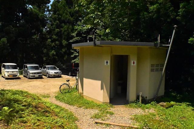 二王子岳登山口トイレ