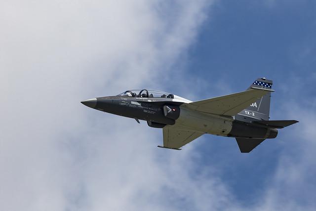 T-50A Public Flight Demo at Dayton Airshow 2017