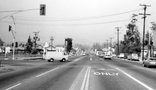 Newport Ave. at First St., Tustin, April 1966 | by Orange County Archives