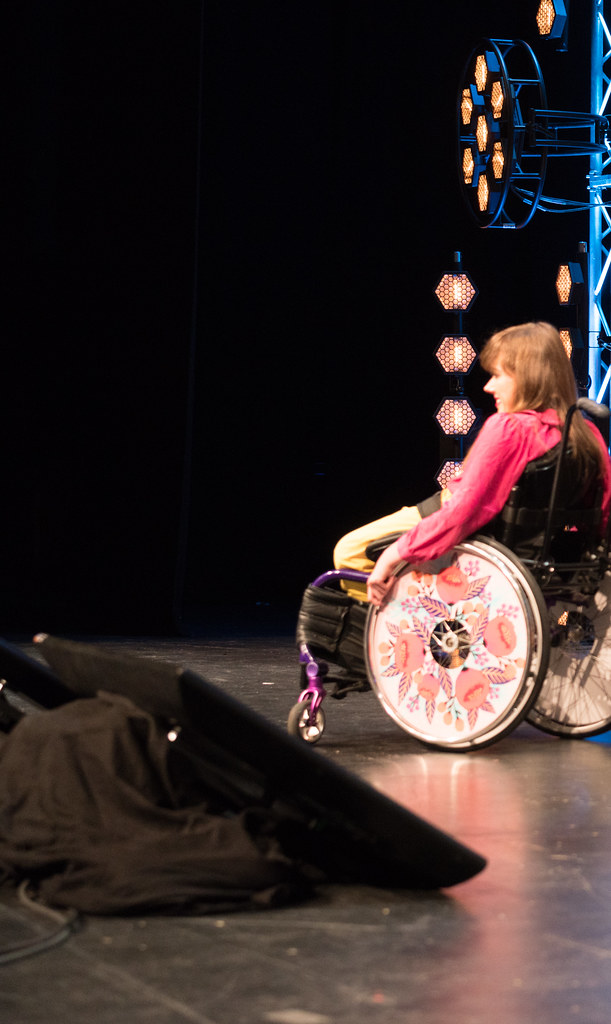 Izzy was born with a spinal condition called Spina Bifida