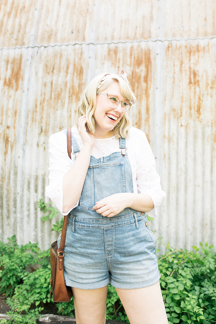 austin style blogger writes like a girl overalls clogs13