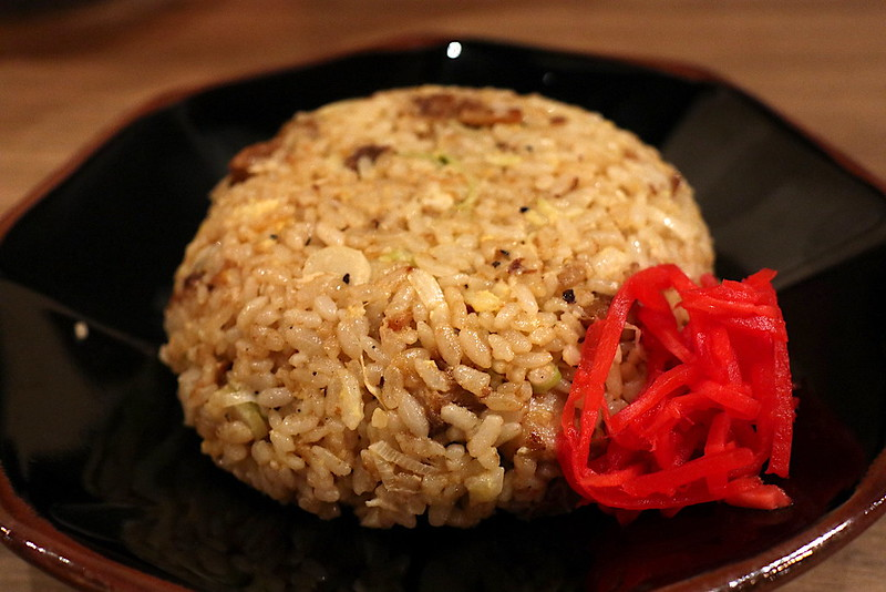 Fried Rice (Chahan) studded with chased