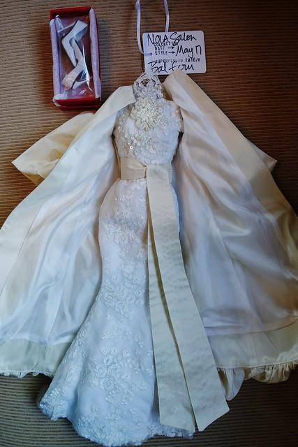 Bal Ecru salon gown and coat by Superdoll   Bal Ecru salon g…   Flickr