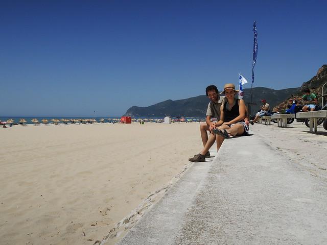 De Lisboa às praias da Arrábida de bicicleta