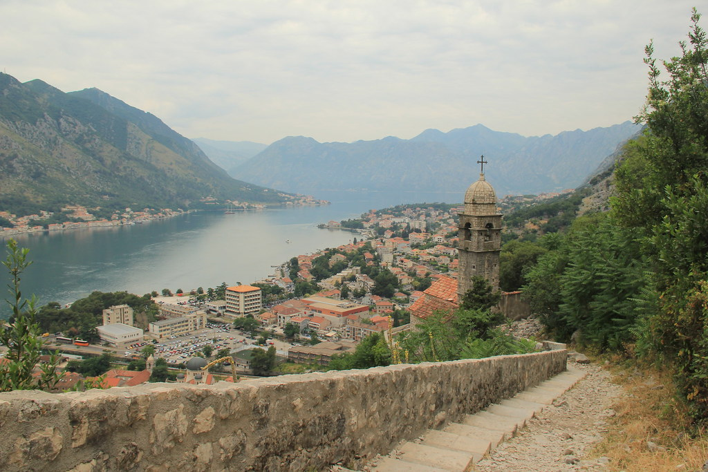 The climb up to Montenegro's fortress