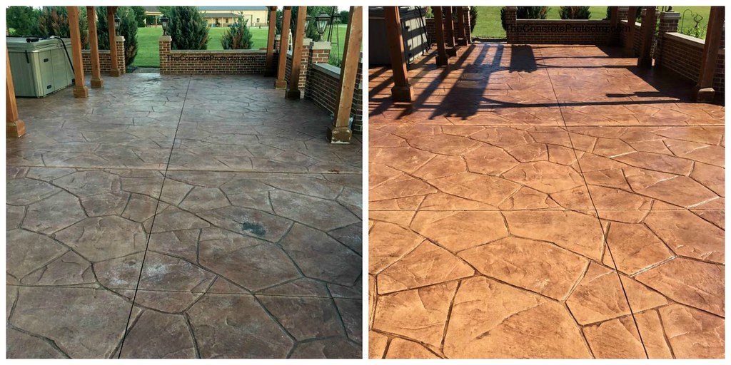 Incroyable ... Stamped Concrete Patio Color Restoration  Sure Seal  Bowling Green, OH  | By Decorative