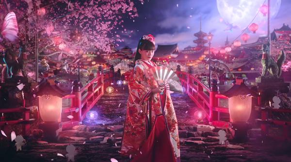 【陰陽師】川口春奈の着物姿が奇麗と話題に!新CMの動画はこちら!