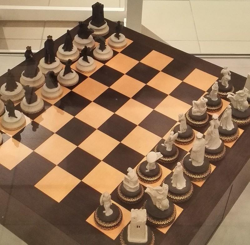 ウェッジウッドのチェス駒