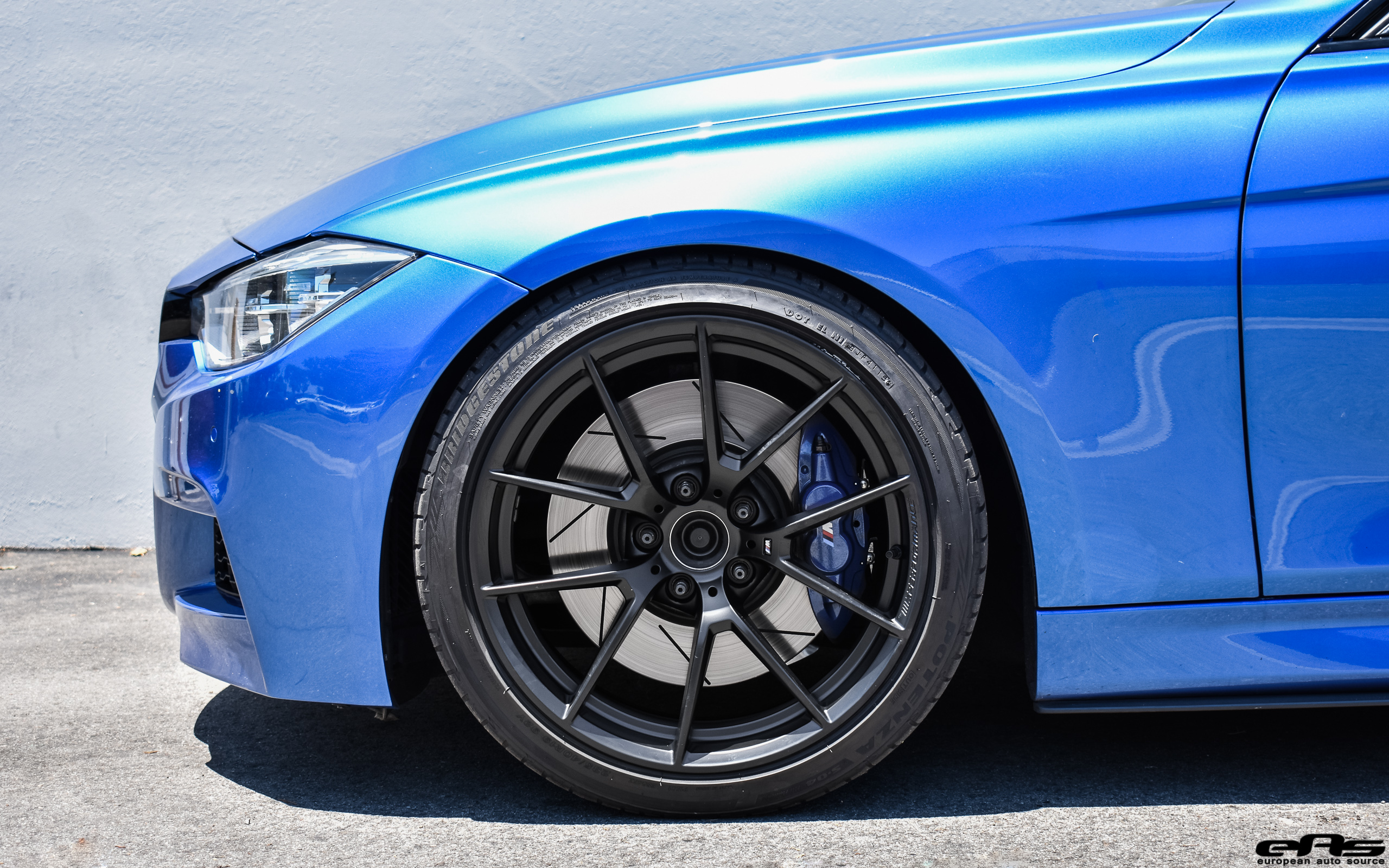 Estoril Blue F30 340i M Performance Style 763 M Bmw