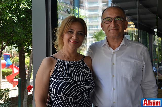 Huriye Çakmak Keleş ve eşi Murat Keleş