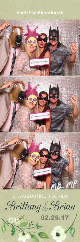 River House Wedding Photo Booth | St. Augustine, FL