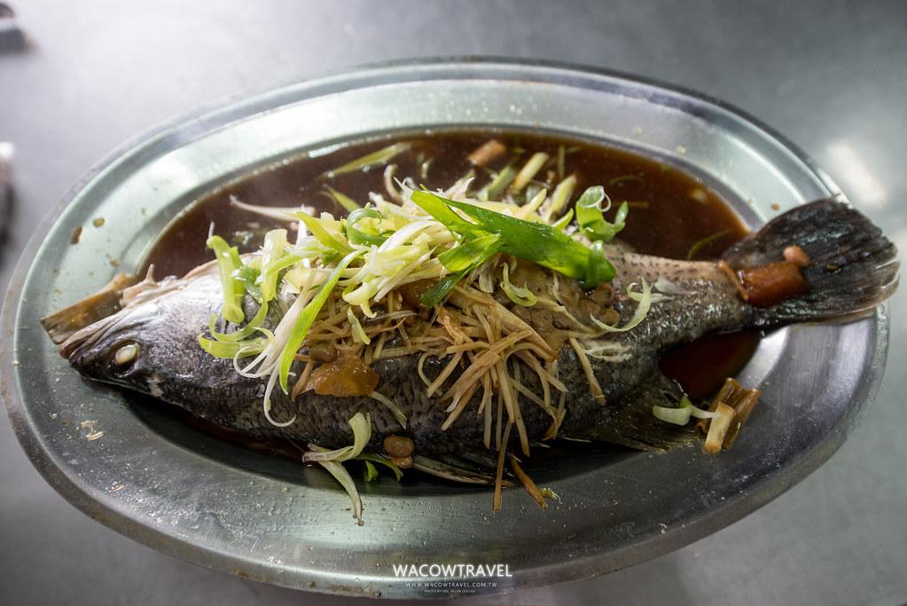 冬瓜醬蒸魚
