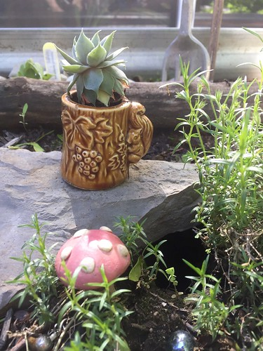 Garden/chipmunk decor