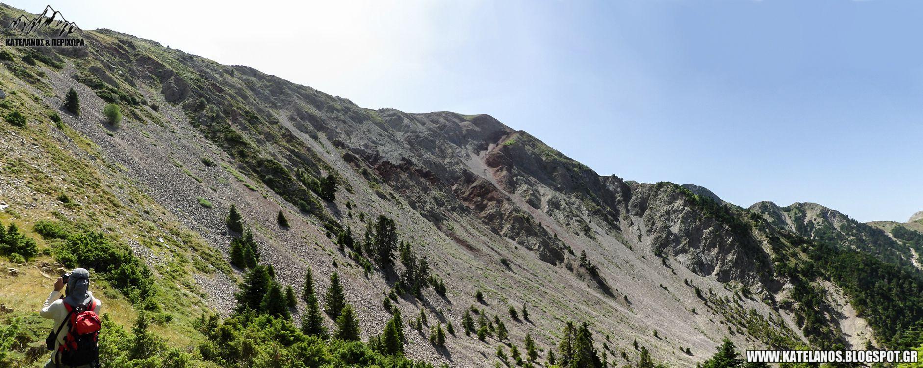 πλατανι βουνο ευρυτανια κρατηρας