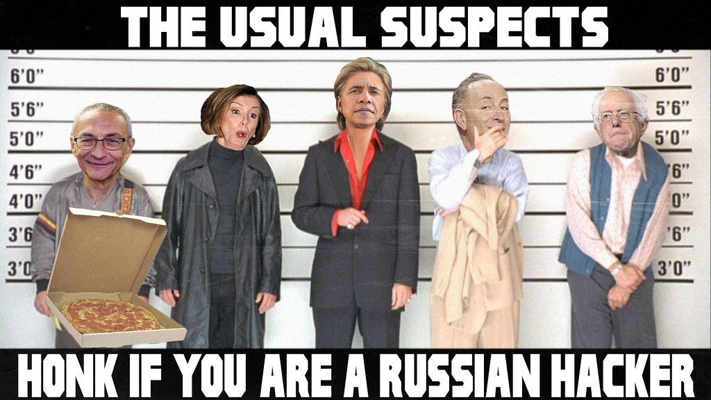 THe USuAL SuSPeCTS...